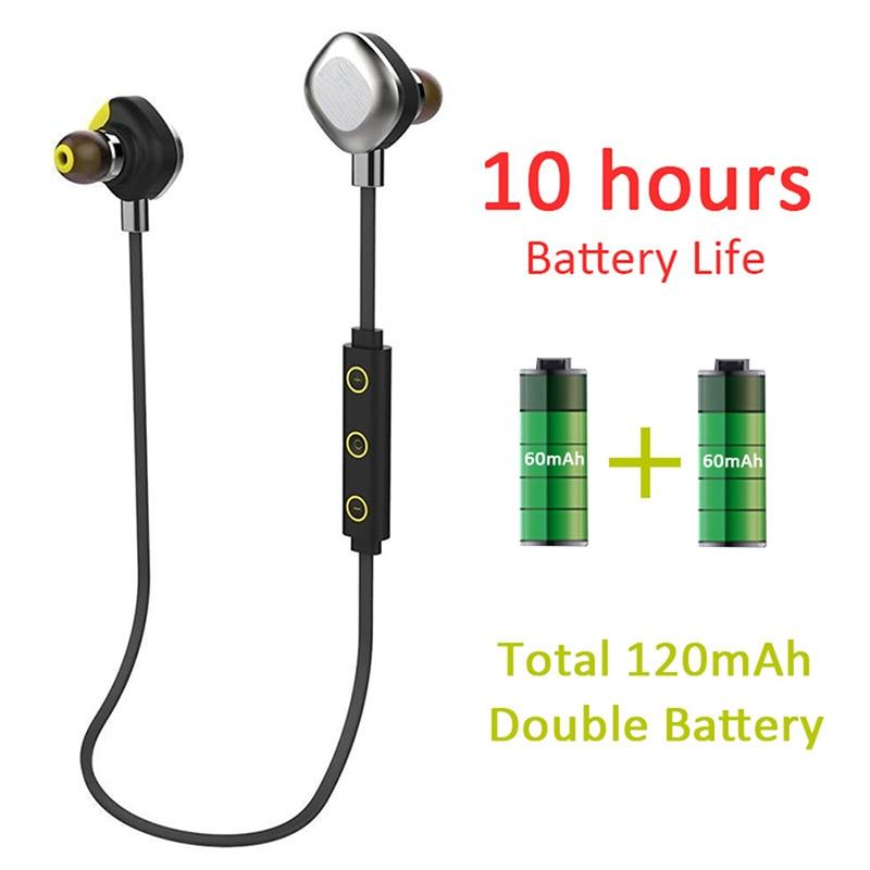 Nfc auriculares bluetooth wireless earbuds magnetic u5 plus waterproof in ear earphone headset sports headphones for