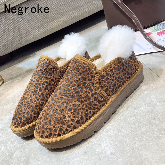 3c4efa6e31 2018 Women Boots Warm Plush Snow Boots For Winter Shoes Woman Casual Rubber Botines  Mujer Platform Ankle Boots Women Booties