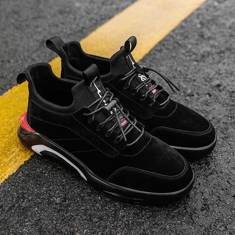 2018 Spring/Autumn Men's Vulcanize Shoes Fashion Sneakers Men Casual Shoes Flats Men Shoes Chaussure Homme Designer Sneakers 6