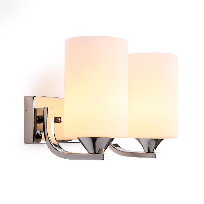 Wall lamp bedside bedroom living room lamp creative LED American style European background wall aisle stair wall lamp european style bronze white shade wall lamp simple creative living room bedroom led bedside lamp jane european retro wall lamp