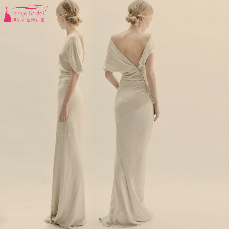 Online Get Cheap Beige Mermaid Wedding Gown -Aliexpress.com ...