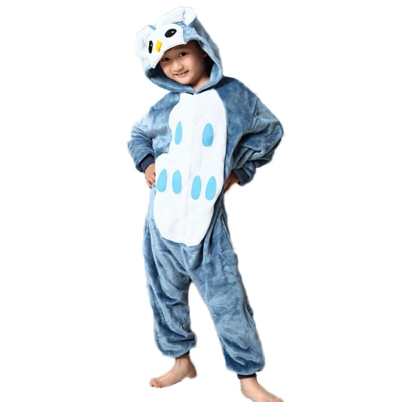 pyžamo pro děti sova Příruba zvířecí dětské děti vánoční - Dětské oblečení