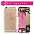 AAA высокое качество Полный Полный Ближний Рамка Шасси Для iPhone 6 S 4.7 ''Корпус в Сборе со Шлейфом Обложка + Бесплатный инструменты