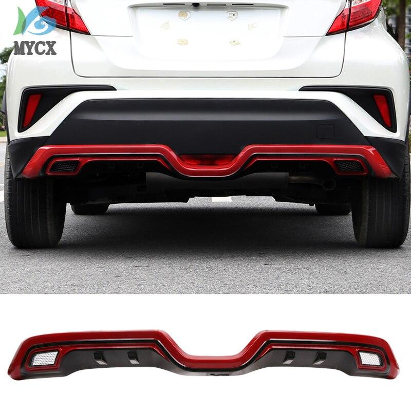 Pour TOYOTA C HR CHR C HR 2016 2017 2018 2019 pare chocs arrière diffuseur garde plaque de protection haute qualité voiture Modification accessoires
