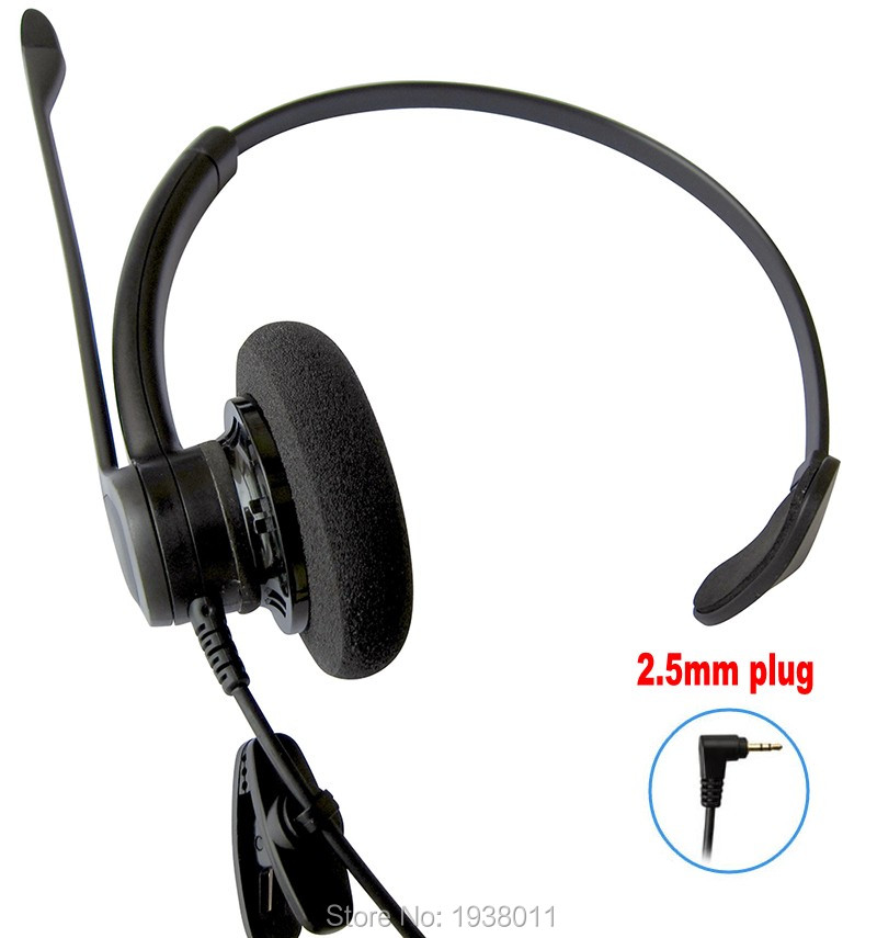 rj jack wiring promotion shop for promotional rj jack wiring new professional monaural call center telephones headset phone headphones 2 5mm jack plug rj9 rj11 plug optional
