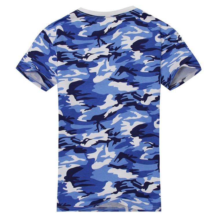 SYB 2016 NEW Man Casual Camouflage T shirt Men Cotton Arm Combat T ... 0305f88de9a