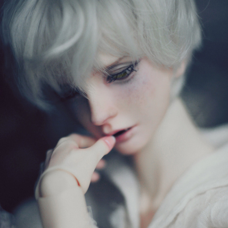 New Shelves Advanced Resin BJD 1/3 Soseo Heiligen Ver Mann Vampire Zwei Zahn Teile Free Eye