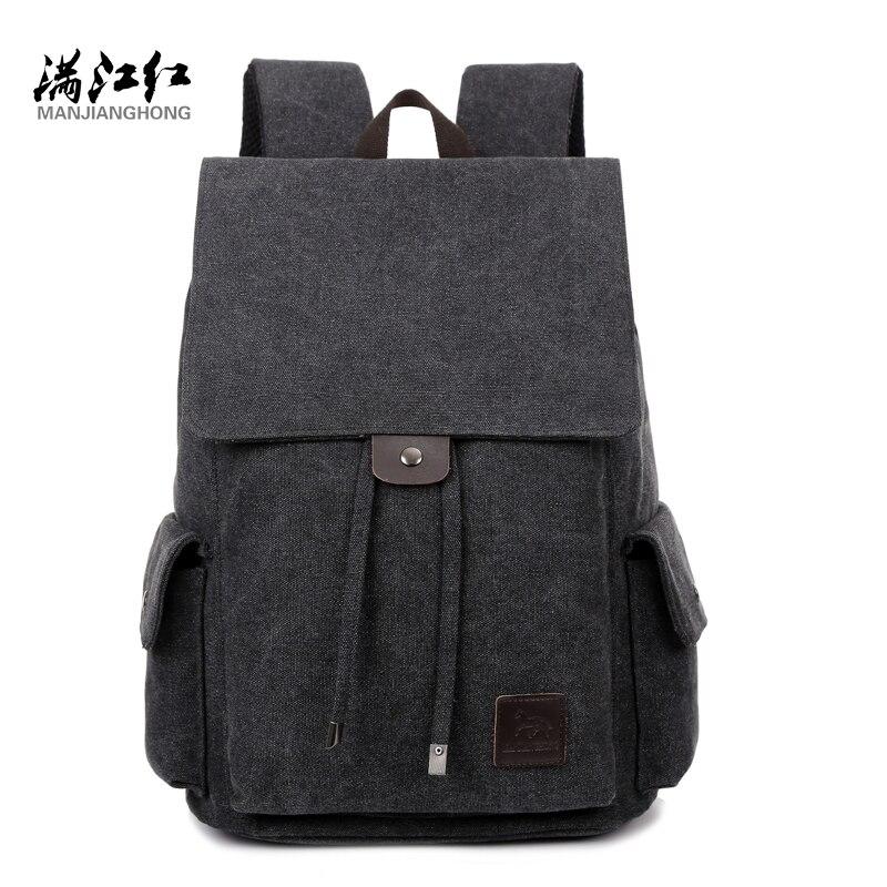 Manjianghong Canvas Man Bag Backpack Mochila Bag Chinese Men's ...