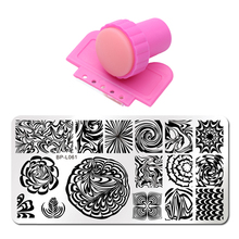 Printing Stamp 19 Style Nail Stamping