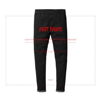 SIMWOOD 2019 Spring  New Casual Jeans Men Skinny Biker Jeans Male Denim Pants Fashion Embroidery Pocket  Slim Fit NC017045
