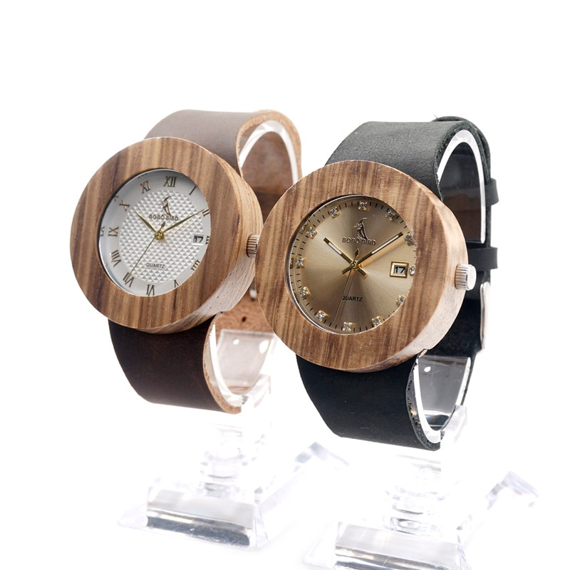Top brand japan movt watch sr626sw price vogue luxury wrist wood watch with metal face new brand movt 00805516