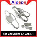 Для Chevrolet Cavalier 2018 2019 аксессуары для стайлинга ABS Хромированная Автомобильная дверная защита ручка украшение чаша рамка накладка