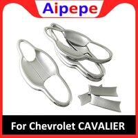 Für Chevrolet Cavalier 2018 2019 Zubehör Styling ABS Chrom Auto Tür Protector Griff Dekoration Schüssel Rahmen Abdeckung Trim