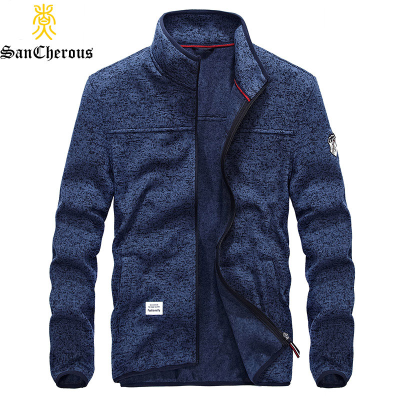 2018 New Top Quality Causal Men Jacket Stand Collar Men Coats Spring Autumn Jacket Men Coat Size M-3XL