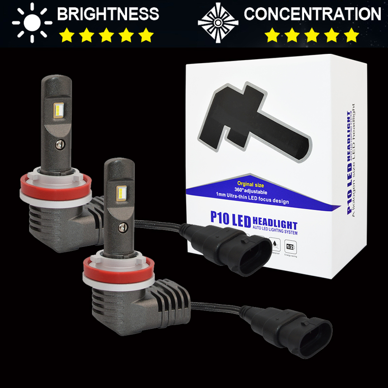 <font><b>CAN</b></font>-<font><b>bus</b></font> Mini Size H8 H11 Car <font><b>Led</b></font> Headlight Bulbs <font><b>H7</b></font> 9012 9005/HB3 9006/HB4 50W 5600Lm 6000K Auto Headlamp <font><b>Led</b></font> Car Fog Lights image