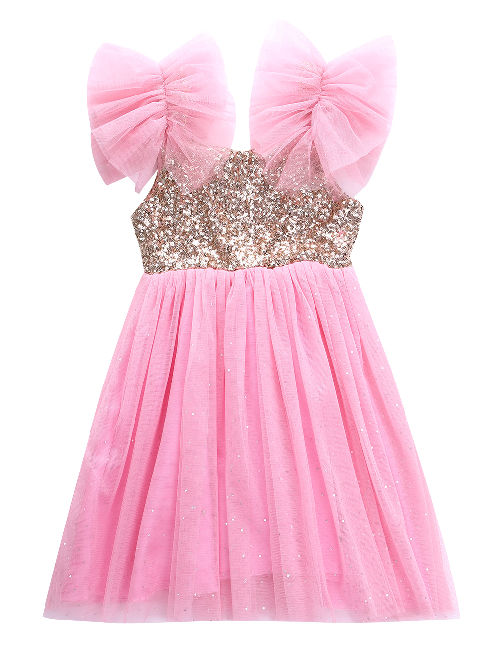 Baby girl pink sequin dress - Baby Girls Kids Girl Pink Sequin Princess Dress Children Baby Girls Clothing Dress Party Tulle Tutu Ball Gown Fancy Dresses2 7y