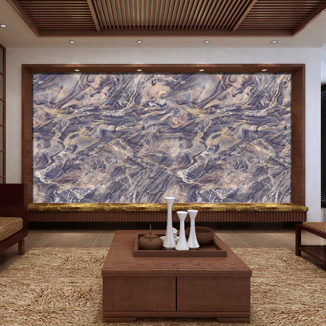 Imitation Marble Pattern Contact Paper Self Adhesive Glossy Worktop Peel  Stick Wallpaper Roll Waterproof Wall Stickers