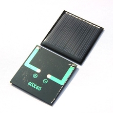 Wholesale Mini Solar Cell Module DIY Solar Panel Bolycrystalline 0.25W 5V For 3.7V Battery 45*45*3mm 200pcs/lot  Free Shipping