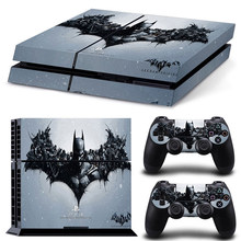 GOOYIYO - For Sony PS4 Sticker Playstation4 Skin Console Controllers Vinyl Decal PS4 Batman Full Skin(China)
