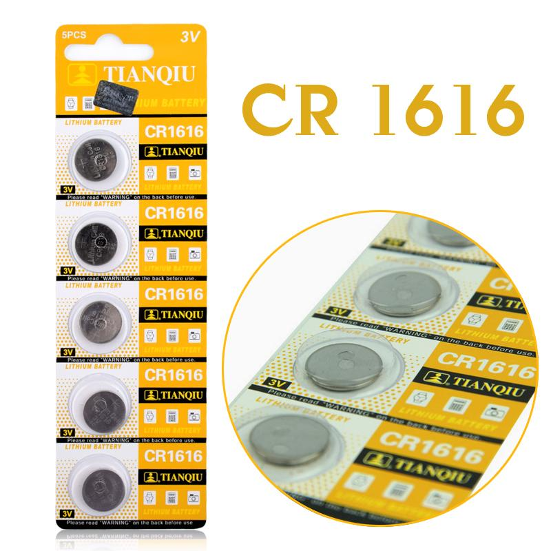 Unterhaltungselektronik Batterien Panasonic 10 Pc Original Cr1616 3 V Taste Cell-münze Batterien Für Uhr Dl1616 Br1616 Ecr1616 5021lc L11 L28 Kcr1616 Gute QualitäT