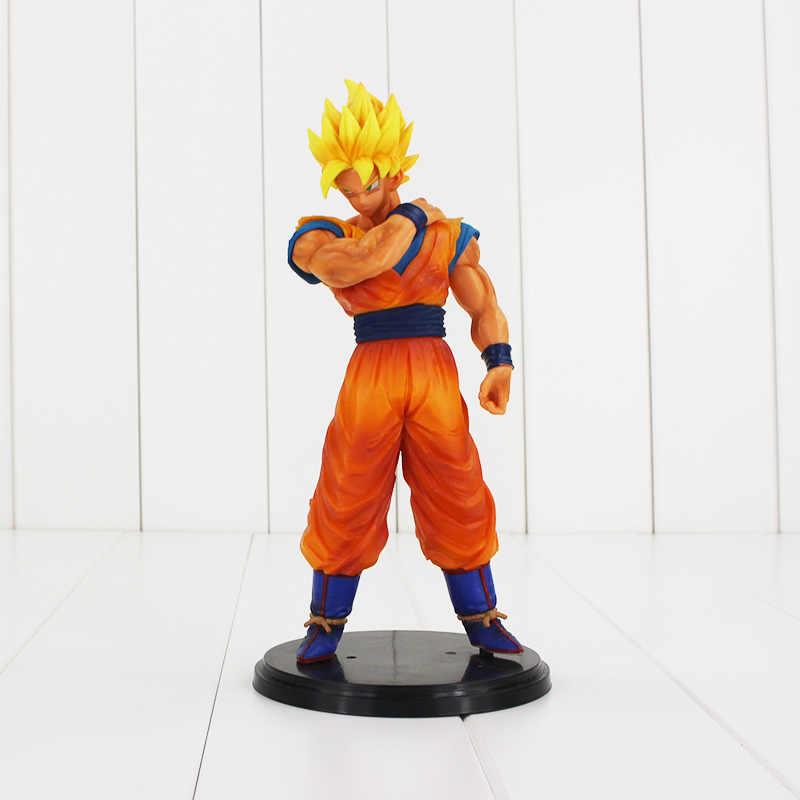 18-20cm dragon ball z resolução de soldados figura brinquedo son goku vegeta super saiyan anime dbz legal modelo boneca