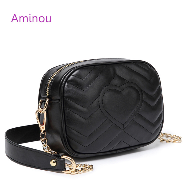 Aminou Luxury Velvet Chains Bags For Women 2018 Designer Shoulder Small  Handbags High Quality Pu Leather 8a72367f1eaa