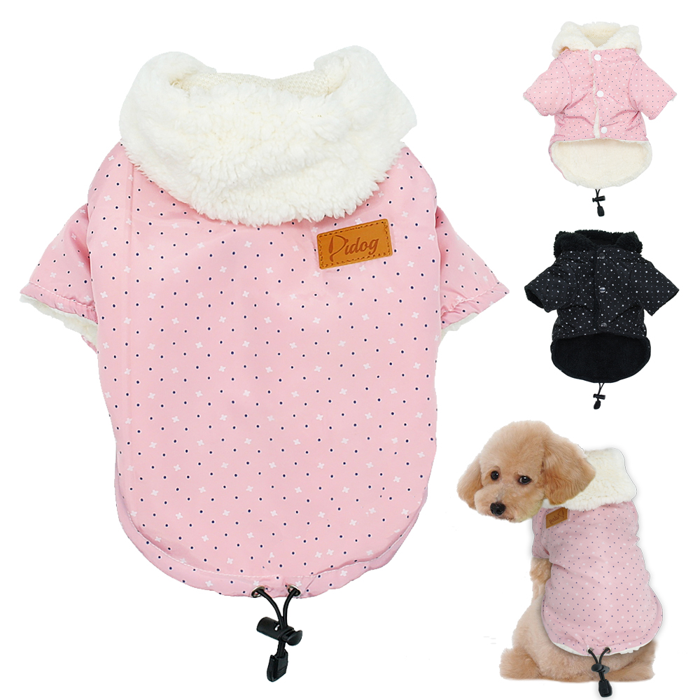 Warm Clothes For Dogs Winter Small Dog Coat Jacket Hooded Cat Puppy Chihuahua Yorkie Pet Dog Clothing Ropa Para Perros S M L Xl