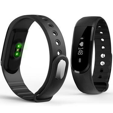 Nueva inteligente pulsera pulsera inteligente para iphone android teléfono d101 heart rate monitor de fitness rastreador pk mi banda de reproductor de mp3 2