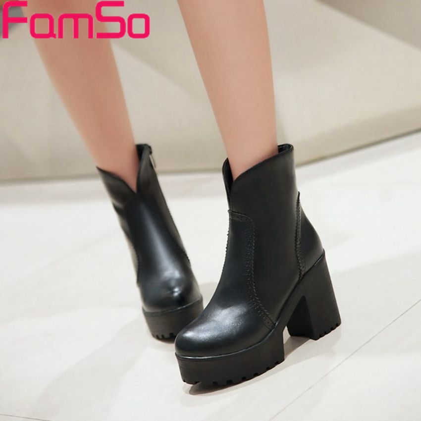 Free shipping 2015 New Sexy font b Women b font Boots 4Colors Designer Platforms Pumps Autumn