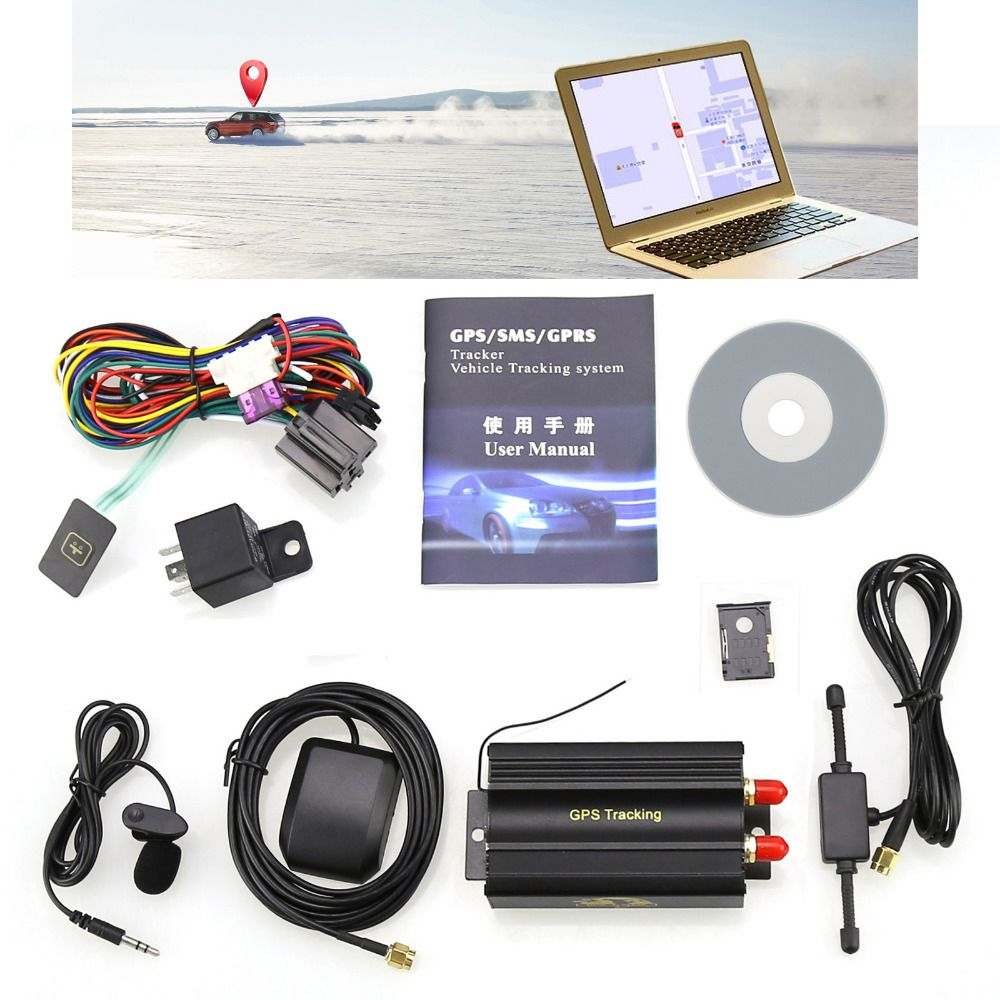 Car Styling Gps Tracker Supports The Remote Controlreal Time Gsmgprs Tracking