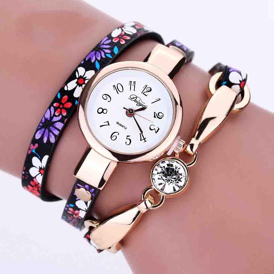 NanBo Kvinnor Mode Färgstarkt Rostfritt Stål Dam Klocka Lyx Exquisite Kvinnor Klockor Reloj Mujer Relogio feminino