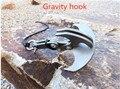 Cyfie Multifuncional Aço Inoxidável Sobrevivência de Dobramento Magnético gravidade gancho Garra Gancho de Escalada Ao Ar Livre mosquetão