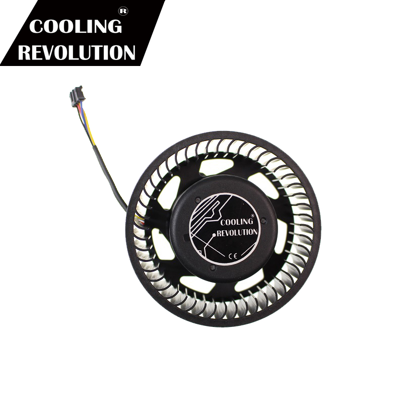 BASA0725R2U 12V 1.2A 4Pin Cooler Fan For ATI HD5870 HD5970 Graphics Card Cooling Fan Turbine New & Original