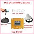 Conjunto completo de Antena 13db Yagi + Techo! Mini 4G LTE GSM DCS 1800 MHZ Teléfono Móvil Repetidor de Señal Booster Cubierta de 500 metros cuadrados