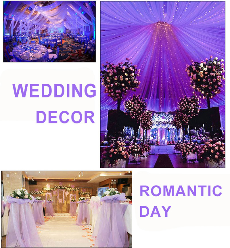 Wedding Decoration 155M Silk Satin Fabric Birthday Party Background DIY Curtain In From Home Garden On Aliexpress