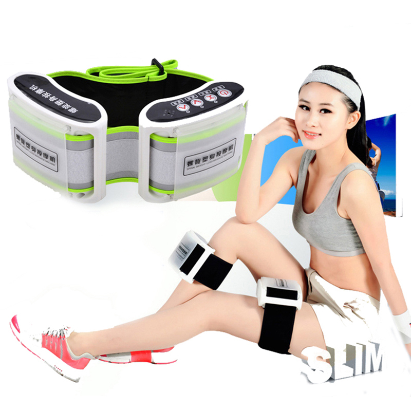 YihCare Weight Loss X5 Times Spiral Rejection of Fat Electric Body Massager Slimming Belt Thin Waist Vibration Massage Machine цена