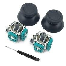 Bevigac 2 pçs potenciômetros 3d sensor joystick polegar varas tampa chave de fenda para ps4 magro pro xbox um controlador