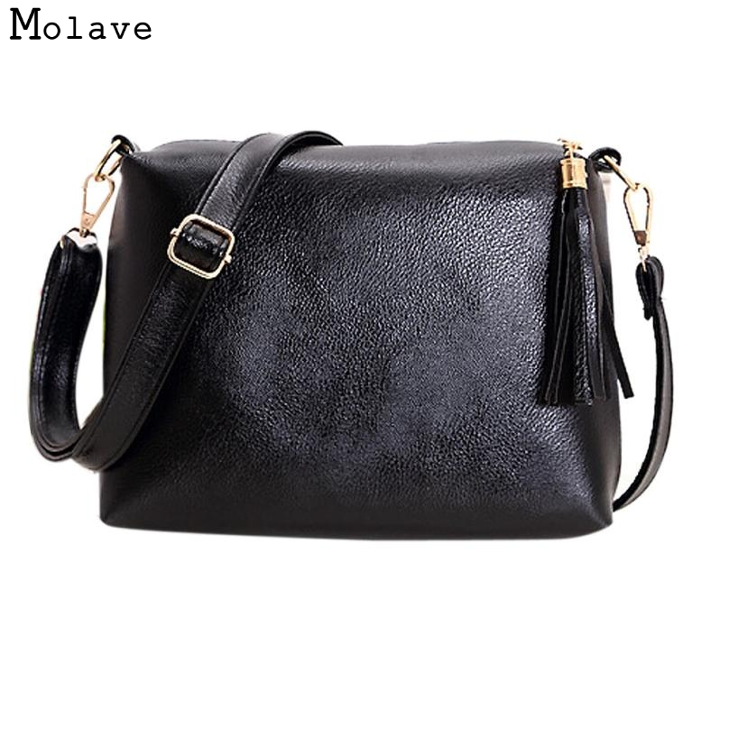 Naivety Handbag New Fashion Women Tassel PU Leather Bag Crossbody Shoulder Bags JUN8U drop shipping