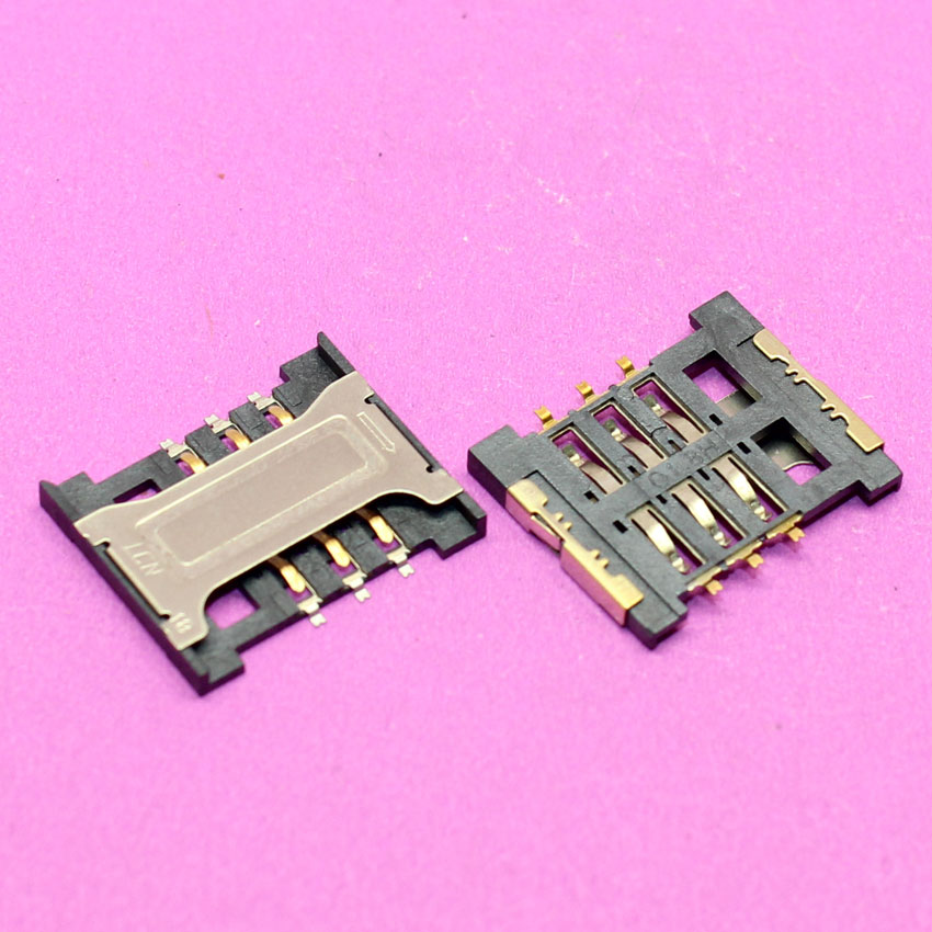 YuXi Replacement New sim card socket slot holder 16.5 X 14mm for lenovo A388T xiaomi 2 and other mobile and tablet
