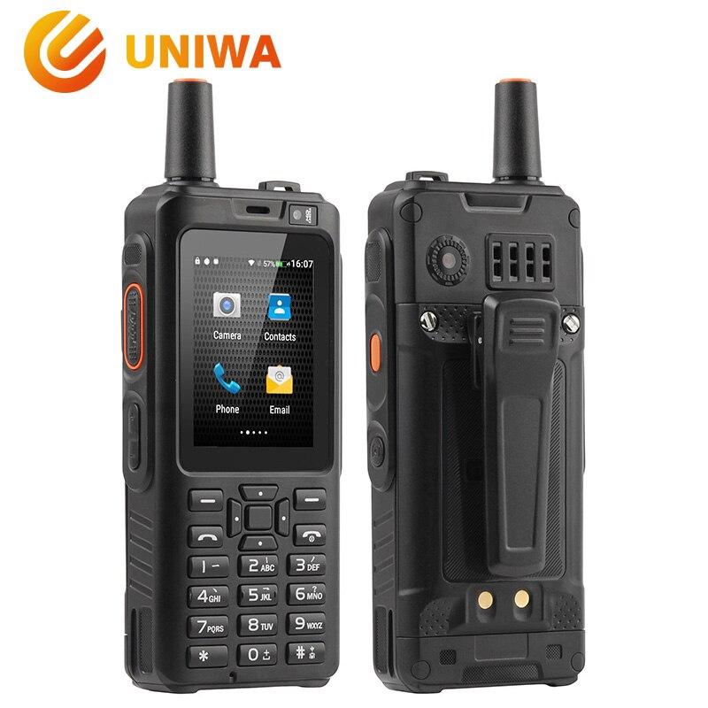 UNIWA Alpi F40 Del Telefono Mobile Zello Walkie Talkie IP65 Impermeabile FDD-LTE 4G GPS Smartphone MTK6737M Quad Core 1 GB + 8 GB Cellulare