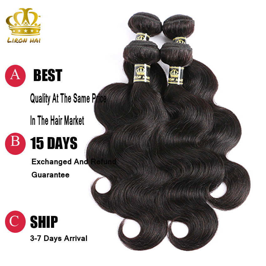 Malaysian Body Wave With Frontal Closure 3 Bundles 8a 13x4 Body Wave Lace Frontal Malaysian Virgin Hair With Closure H&J Hair (7)