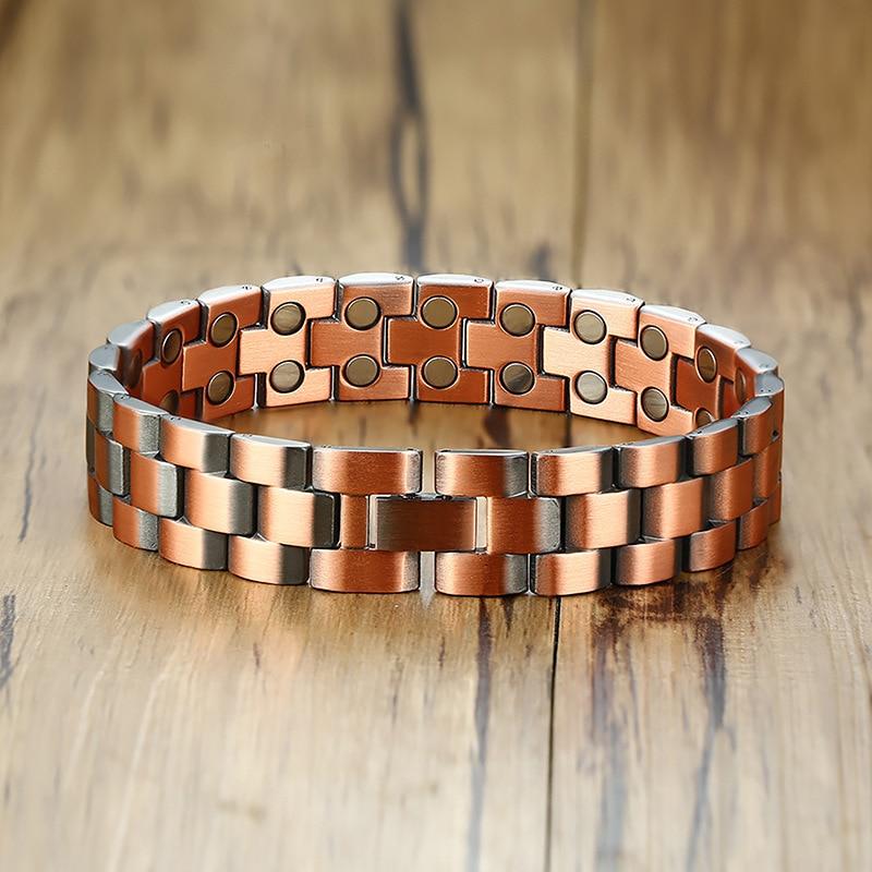 Купить модные ювелирные изделия медный цвет 2 стиля браслеты мужские