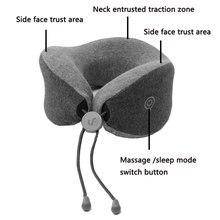 Xiaomi Mijia LF U-Shape Neck Massage Pillow Relax Muscle Massager Release Pressure Help Sleep Work Home Car Travel Use