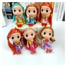 3pcs set 12 cm Confused font b Doll b font Wedding Princess Mini font b Dolls