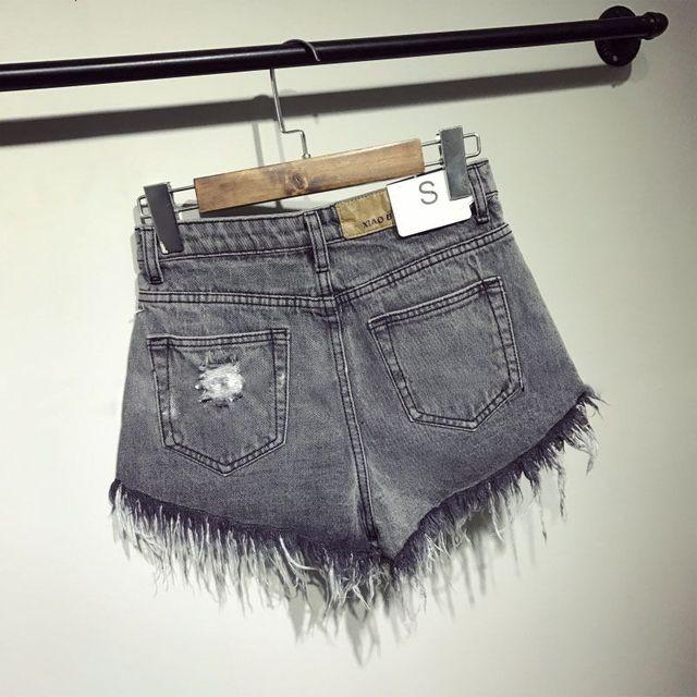 female cool women denim high waists sexy short Jeans