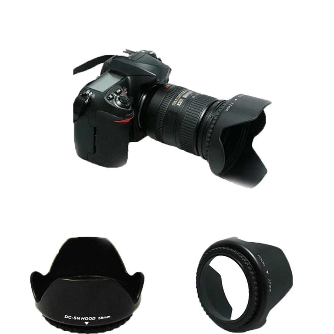Centechia D3200 D3300 D5200 D5300 Máy Ảnh Lens Hood 52 mét Bayonet Phù Hợp Với đối với AF-S DX 18-55 mét f/3.5-5.6 Gam VR II Ống Kính