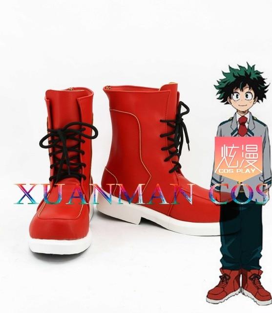 0e7a598c Mi héroe Academia/Boku no Hero Academia Bakugo Katsuki y Midoriya Izuku Cosplay  zapatos botas