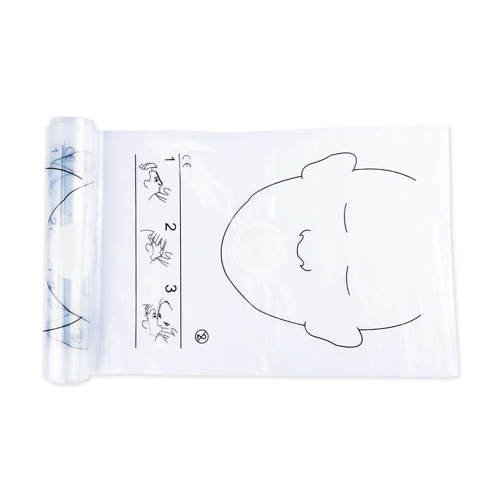 Image 3 - 8 Rolls 36pcs/roll CPR Resuscitator Rescue Face Shields With One 