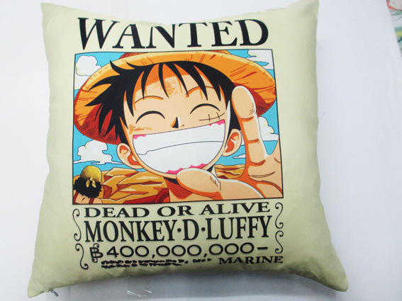 One Piece Luffy Zoro Tony Tony Chopper Pillow Cover
