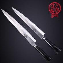 Freies Verschiffen Toujiron Edelstahl Westlichen stil Sushi Sashimi Tänzelte Messer Küche Kochen Schneiden Filet Messer